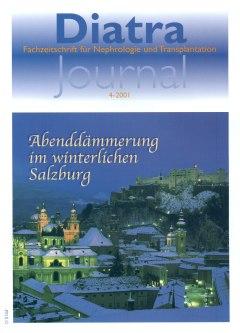 """Zum Titelbild:  Zu sehen ist das winterliche Salzburg, vorne links die Kollegienkirche, dahinter die Spitzen des Salzburger Domes; rechts oben erkennt man die Festung Hohensalzburg.  """"Diatra-Journal"""" dankt der """"Tourismus Salzburg GmbH"""" für die Bereitstellung des Motives."""